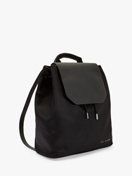 Ted Baker Mahda Drawstring Backpack Black