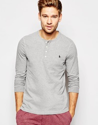 Jack Wills Lanercost Long Sleeve T Shirt In Regular Fit Grey