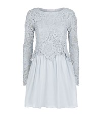 See By Chloe See By Chloe Lace Overlay Dress Female Blue