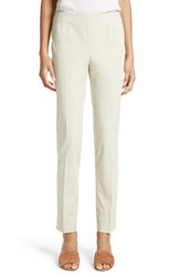 Lafayette 148 New York Women's 'Chrystie' Stretch Twill Pants Khaki