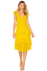 Marissa Webb Dion Dress Yellow