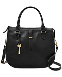 Fossil Ryder Medium Satchel Black