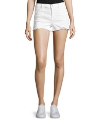 J Brand 1044 Mid Rise Denim Shorts White