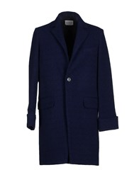 Ballantyne Coats And Jackets Coats Men Dark Blue