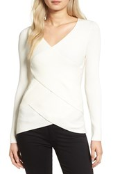 Bailey 44 Women's Your Angel Wrap Sweater Cream