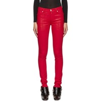 Alyx Red Zip Back Jeans