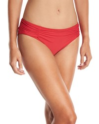 Athena Hey There Shirred Side Hipster Swim Bottom