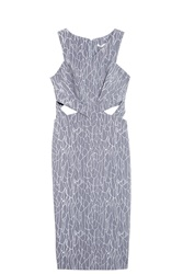 Jonathan Simkhai Cut Out Dress Grey