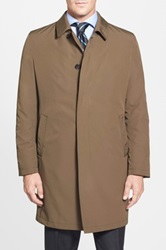 Sanyo 'New York' Water Repellent Trench Coat Brown