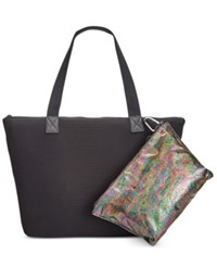 Ideology Tote With Pouch Only At Macy's Black Multi