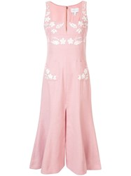 Alice Mccall Pastime Paradise Floral Dress Pink