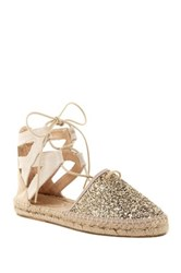 Charles David Sunshine Espadrille Flat Metallic