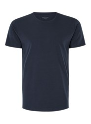 Selected Homme Blue Slim Fit T Shirt