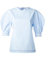 J.W.Anderson Puff Sleeves Blouse Blue