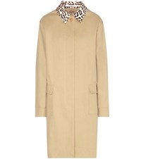 Givenchy Cotton Blend Coat Beige