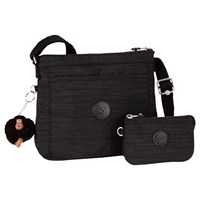 Kipling Moy Creativity S Duo Across Body Bag Dazz Black