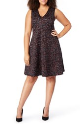 Rebel Wilson X Angels Plus Size Fit And Flare Dress Scribble