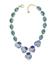 Forzieri Blue Crystal Necklace