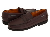 Mephisto Cap Vert Cordovan Smooth Leather Slip On Shoes Brown