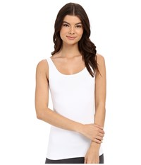 Only Hearts Club Delicious Long Line Low Back Tank Top White Sleeveless