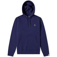 A Bathing Ape One Point Pullover Hoody Blue