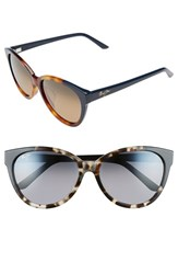Maui Jim Women's 'Sunshine' 56Mm Sunglasses Tortoise Navy Blue Bronze Tortoise Navy Blue Bronze
