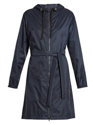 Max Mara Parka Raincoat Navy