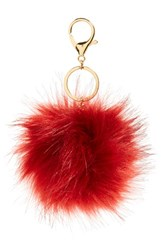 Women's Robert Rose Faux Fur Pompom Bag Charm
