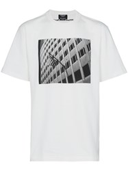 Calvin Klein 205W39nyc X Andy Warhol Foundation Building T Shirt White