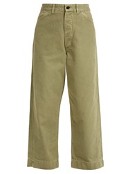 Chimala Usmc Utility Denim Trousers Khaki