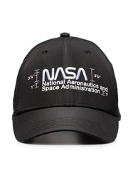 Heron Preston Nasa Logo Cap Black