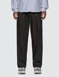 Maison Kitsune Single Pleated Pants Black