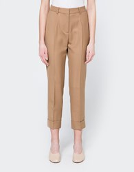Wood Wood Leonor Trousers In Camel