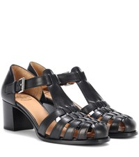 Church's Kelsey 50 Leather Sandals Black