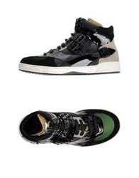 John Galliano High Tops And Trainers Black