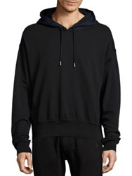 Diesel Black Gold Long Sleeve Hoodie Black