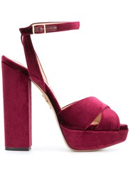 Charlotte Olympia Diana Sandals Red