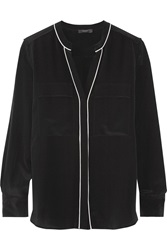 Belstaff Milton Silk Top Black