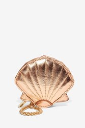 Nasty Gal The World Is Your Coin Metallic Purse