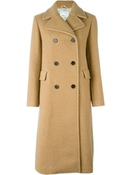 3.1 Phillip Lim Double Breasted Coat Nude And Neutrals
