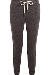 Splendid Bowery Textured Knit Track Pants Anthracite