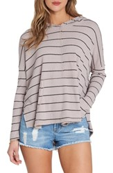 Billabong These Days Hooded Thermal Top Stone