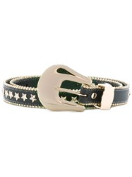 B Low The Belt Star Stud Black