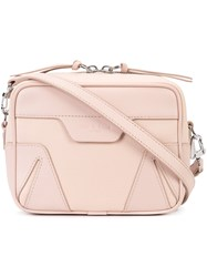 Rag And Bone Top Zip Crossbody Bag Nude Neutrals