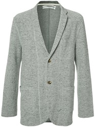 Robert Geller Plain Blazer Grey