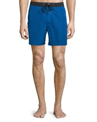 Michael Michael Kors Colorblock Swim Trunks Royal Men's