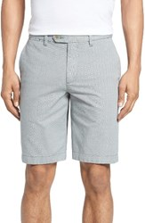 Ted Baker Men's London Mysho Mini Stripe Shorts Grey