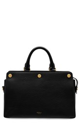Mulberry 'Chester' Textured Goatskin Leather Satchel