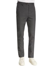 Brunello Cucinelli Para New Wool Cargo Pocket Pants Medium Gray