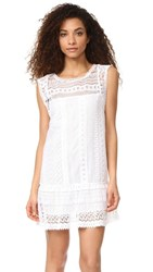 Bb Dakota Milo Crochet Lace Dress Optic White